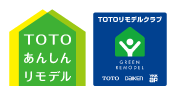 TOTOリモデルクラブロゴ